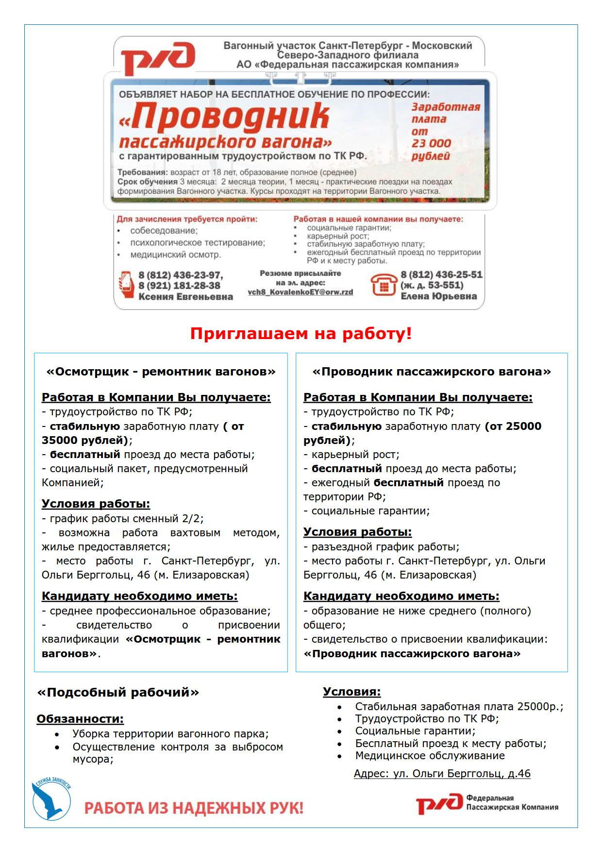 РЖД вакансии_1