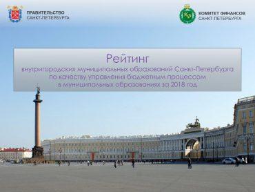 Рейтинг муниципальных образований по качеству управления бюджетным процессом за 2018_1